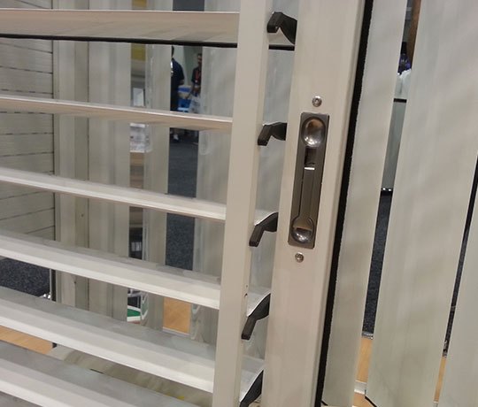 Aluminium Shutters - Privacy Control